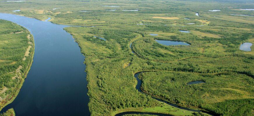 Описание самых длинных рек России