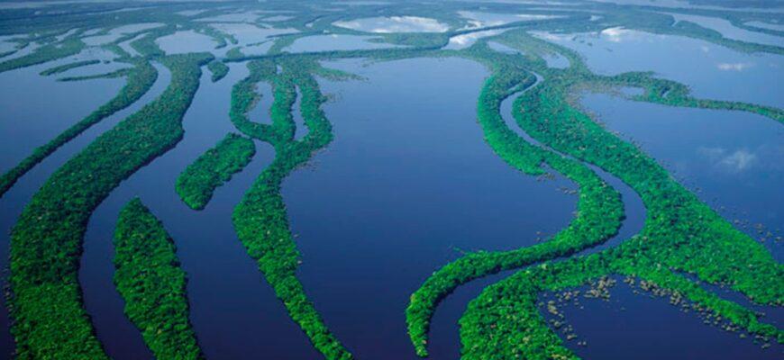 ТОП самых больших рек