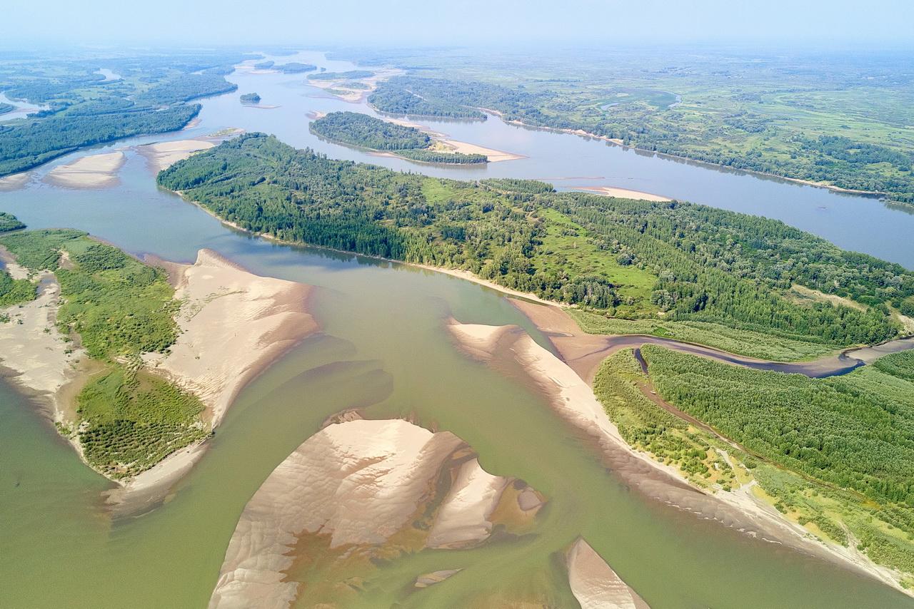 Обзор реки Обь