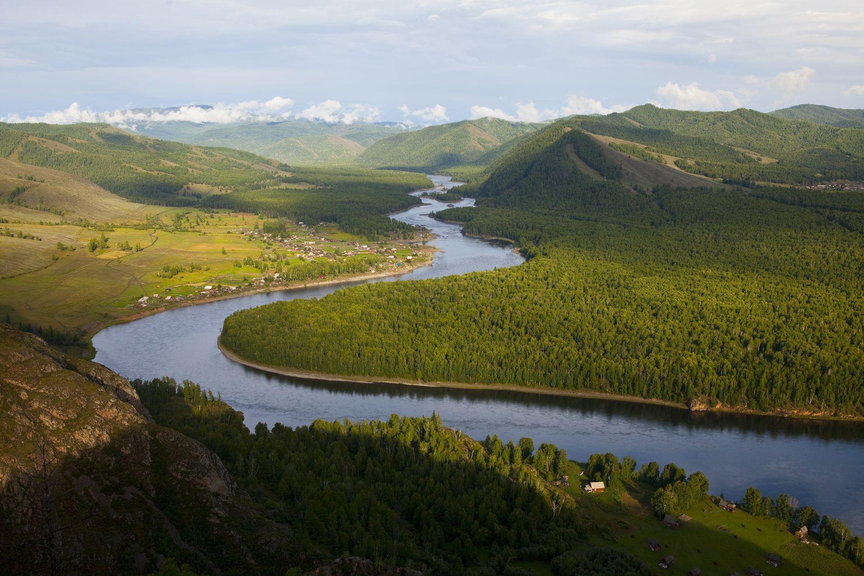 Описание реки Енисей